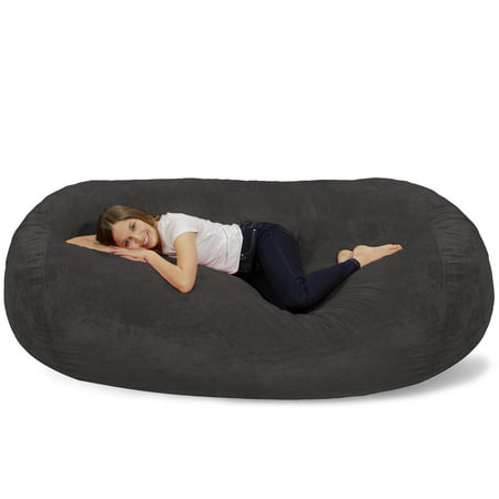 Terrific Relax Sacks Giant Bean Bag Lounger 7 5 Ft Onthecornerstone Fun Painted Chair Ideas Images Onthecornerstoneorg