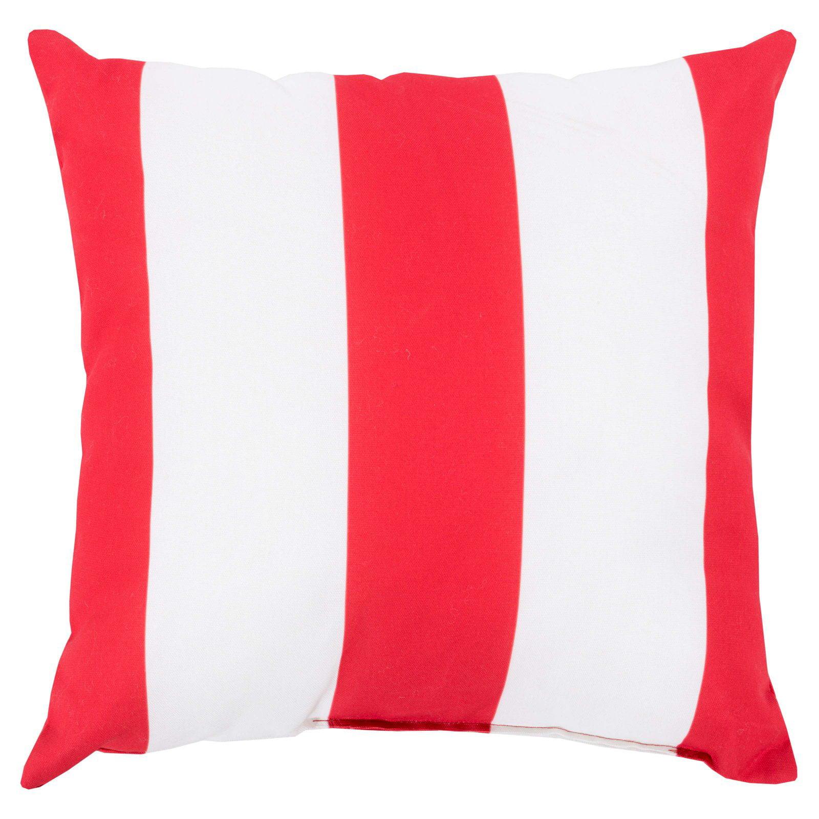 Surya Awning Stripe Indoor/Outdoor Pillow