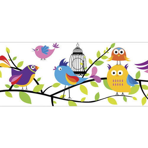 4 Walls Tweety Pie 15' x 9'' Wildlife Border Wallpaper