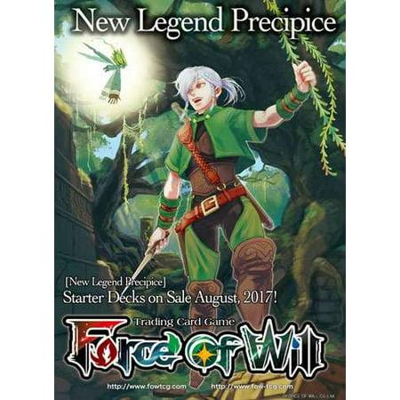 Starter Wand (Force of Will New Legend of Precipice Starter Deck Wind Elemental Surge )