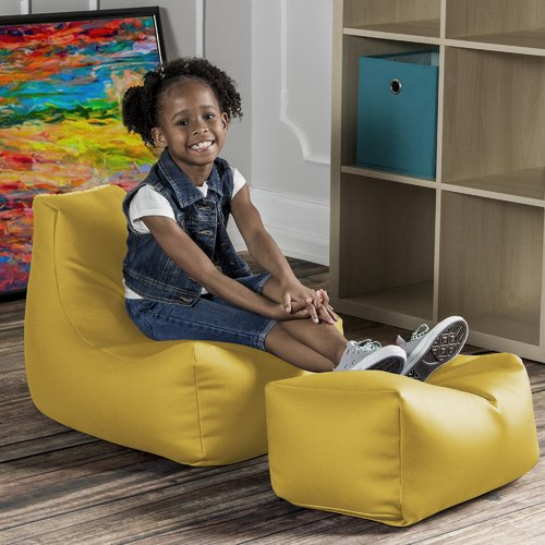 Jaxx Juniper Kids Chair and Ottoman
