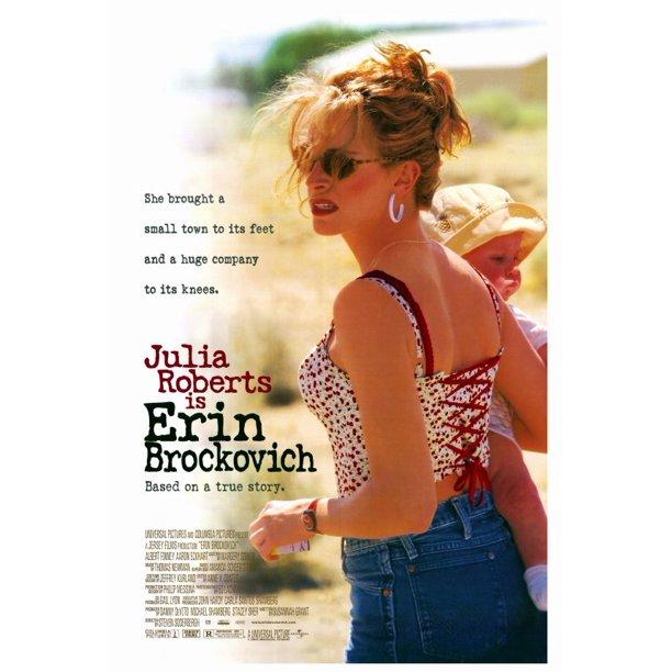 Erin Brockovich 2000 27x40 Movie Poster Walmart Com Walmart Com