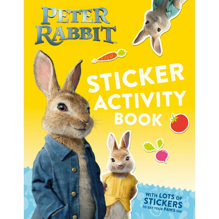 Peter Rabbit, The Movie Sticker Activity Book](Halloweentown Book From The Movie)