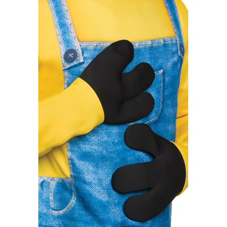 Despicable Me Minion Costume Minion Gloves Adult One Size - Minions Despicable Me Halloween Costumes