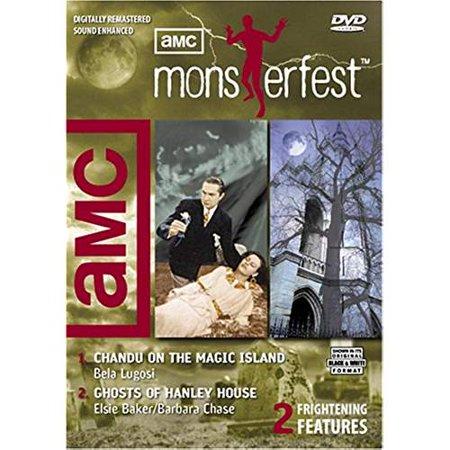 AMC MONSTERFEST: CHANDU ON THE MAGIC ISLAND/ GHOSTS OF HANLEY HOUSE (1935)(DVD) - image 1 de 1