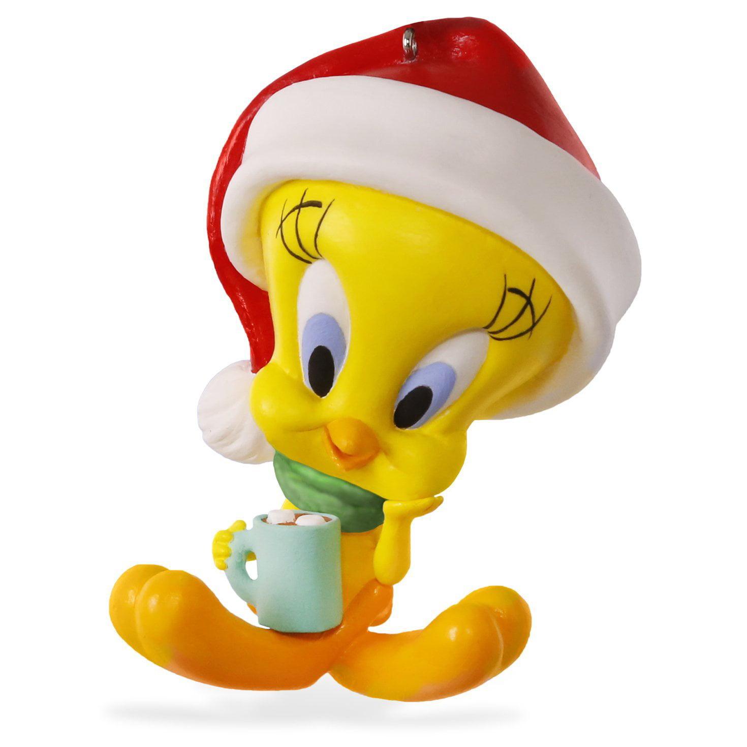keepsake looney tunes tweety hot cocoa holiday ornament by hallmark walmartcom - Hallmark Christmas Home Decor