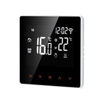 Wi-Fi Smart Thermostat Digital Temperature Controller APP Control LCD DisplayTouch Screen Week Programmable Electric Floor Heating Thermostat for Home School Office Hotel 16A