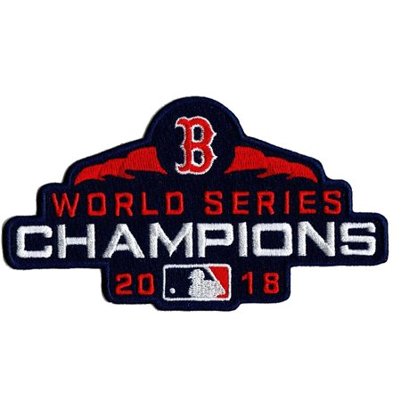 Boston Red Sox 2018 World Series Champions Patch - No Size
