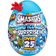 Smashers Dino Ice Age Surprise Egg with Over 25 Surprises! - Dactyl, Red