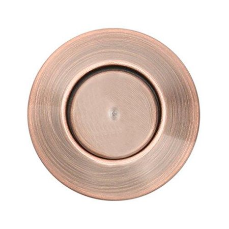 Sink Top Push Button Replacement for Insinkerator Air Switch Garbage / Waste Disposal Outlet By Essential Values (Red Oil Bronze