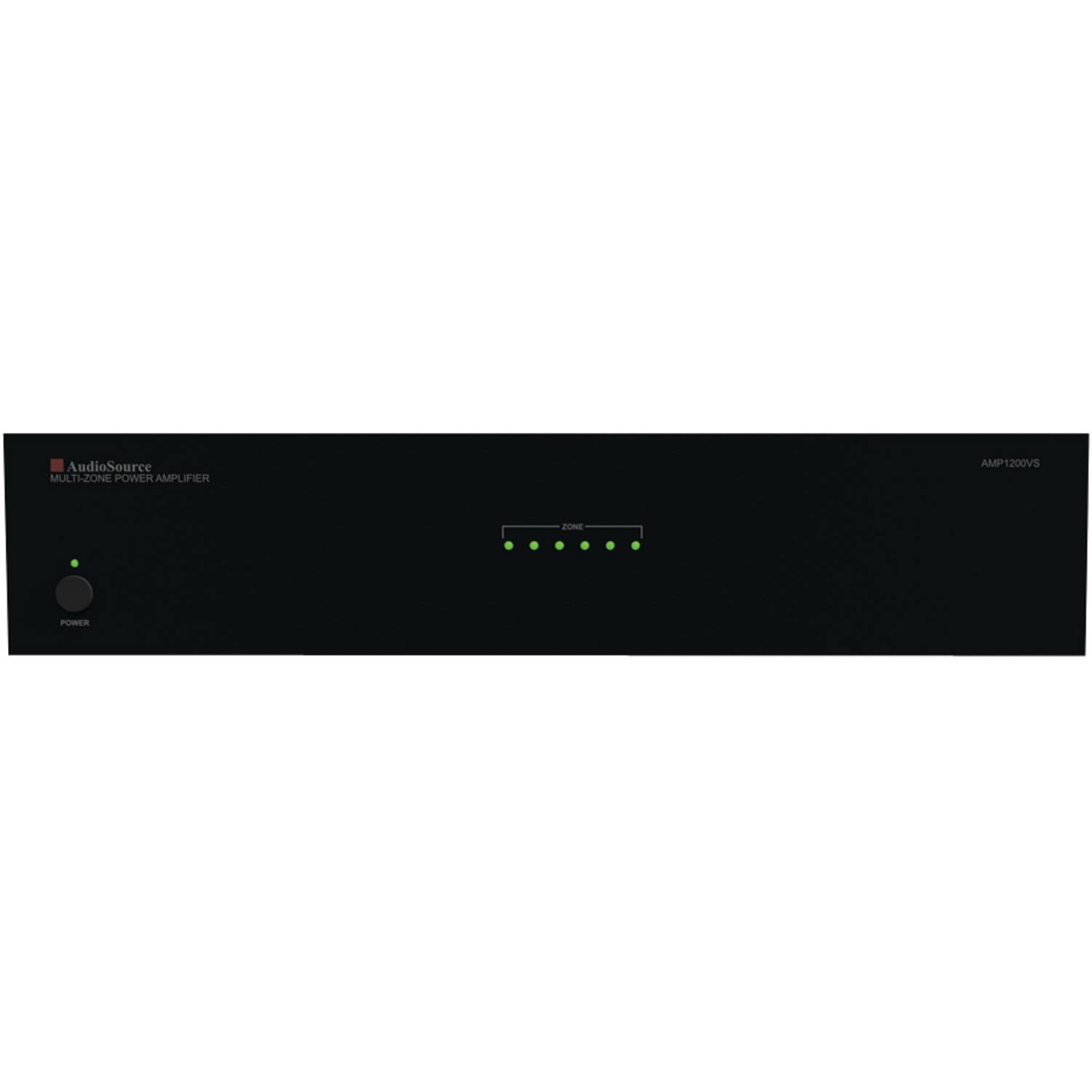 AudioSource AMP1200VS 12-Channel, 6-Zone Distributed Audio Power Amplifier by AudioSource