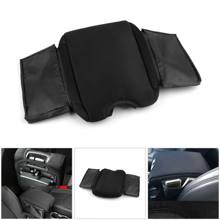 Areyourshop Center Console Armrest Pad Guard Cover Seat Box For Jeep Wrangler JK 2011-2017 1PC Car Center Console Armrest Pad Cover Seat Box For Jeep Wrangler JK 2011-2017