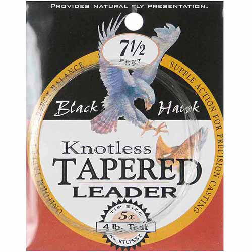 Danielson Knotless Tapered Leaders, 7.5', 4 lb Test
