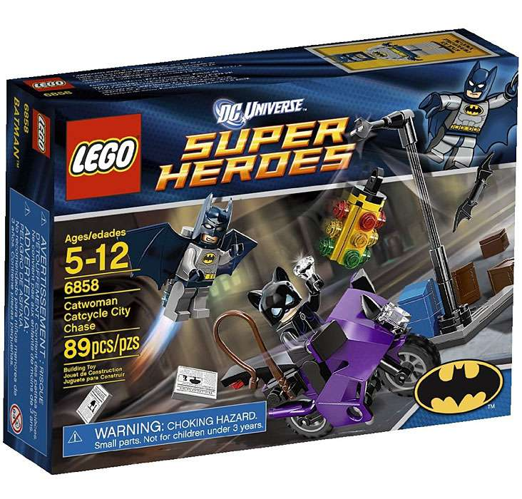 LEGO Super Heroes Catwoman Catcycle City Chase