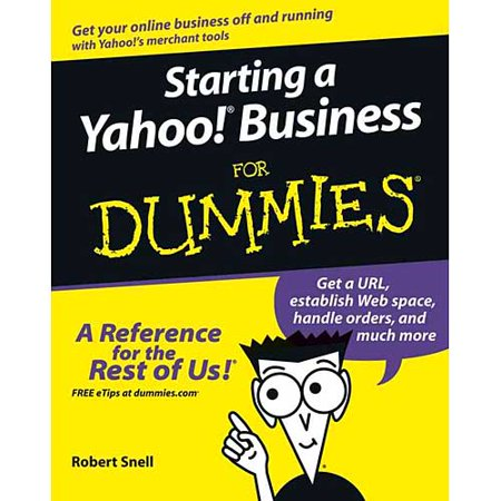 Starting A Yahoo  Business For Dummies