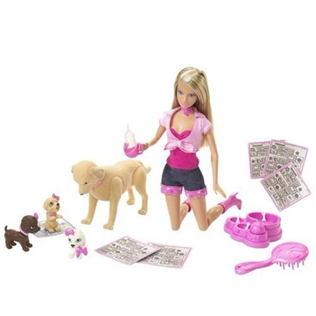 Barbie Taffy & Puppies - image 1 de 1