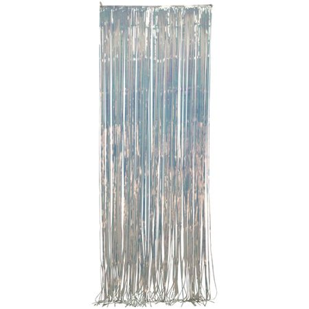 Opalescent Metallic Curtain