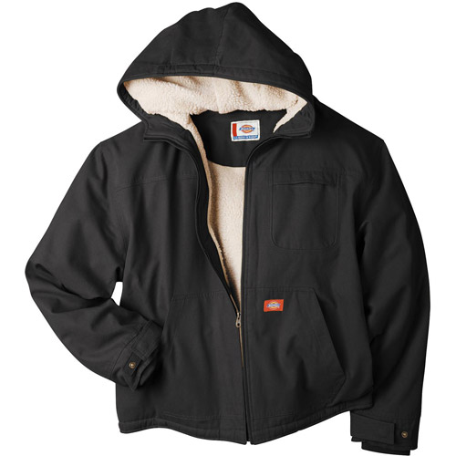 Dickie's Duck Sherpa Lined Hooded Jacket