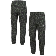 Iowa Hawkeyes Colosseum Logo OHT Military Appreciation Code Fleece Pants - Camo