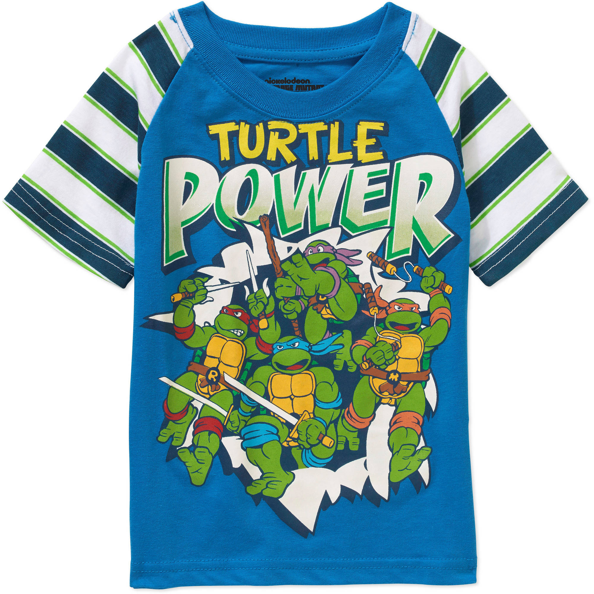 Nickelodeon Teenage Mutant Ninja Turtles Toddler Boy Heather Printed Graphic T-Shirt