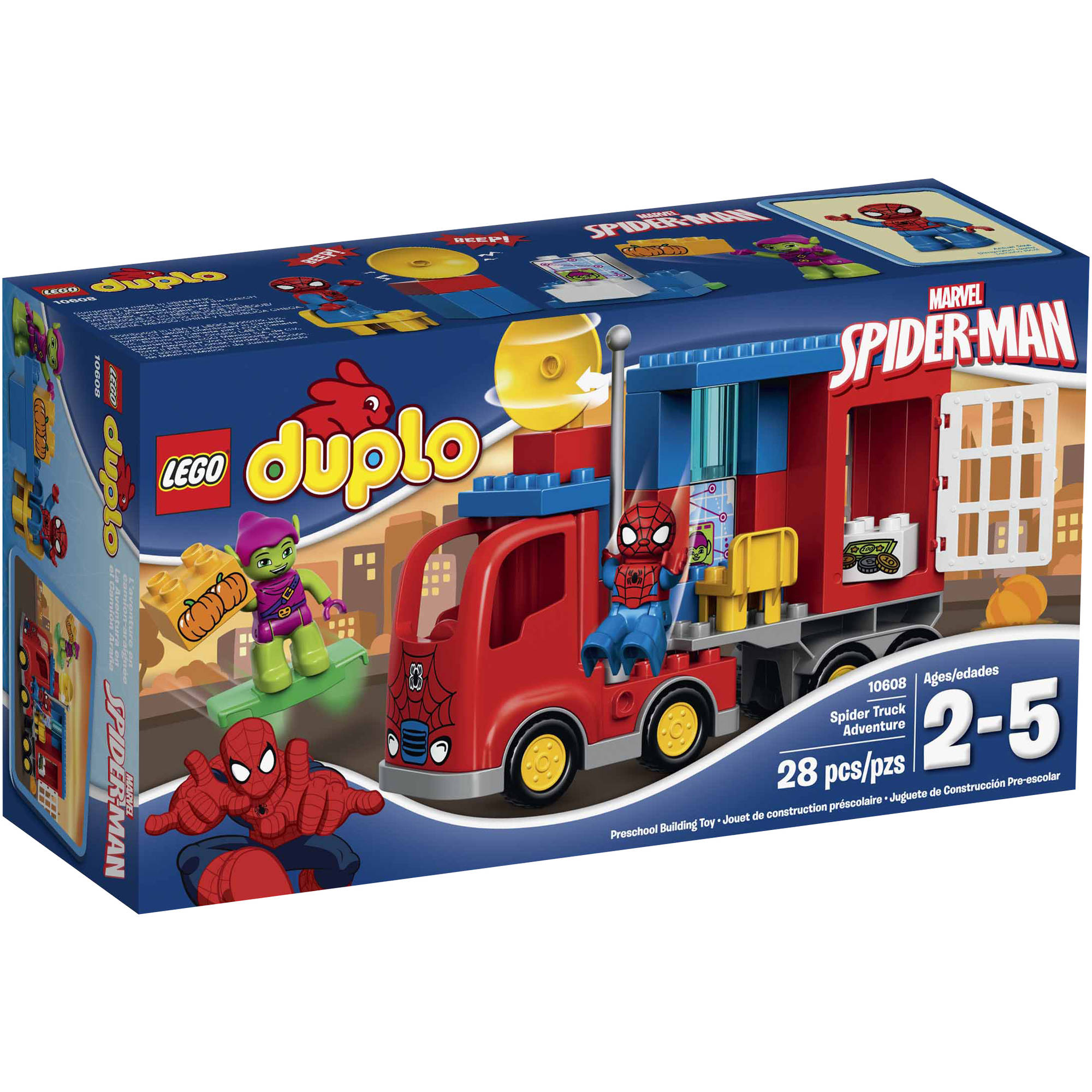 LEGO DUPLO Marvel Spider-Man Spider-Truck Adventure, 10608