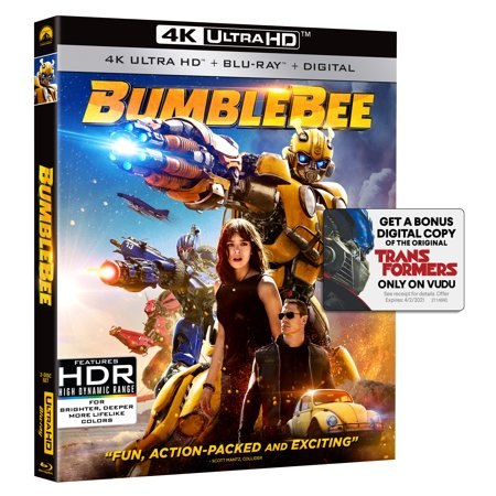 Bumblebee (4K Ultra HD + Blu-ray)](Halloween Australia Blu Ray)