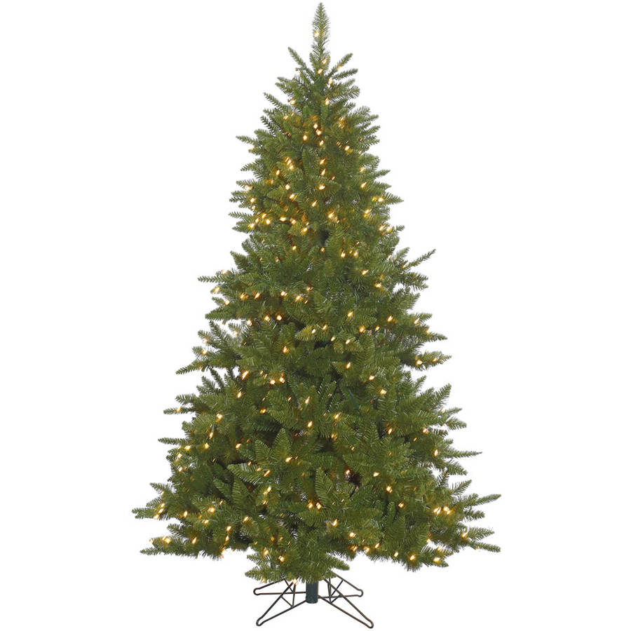 Vickerman Pre-Lit 4.5' Durango Spruce Artificial Christmas Tree, Dura-Lit, Clear Lights