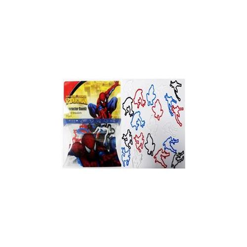 Bulk Buys Character Bands Spiderman Silicone Kids Bracelet - Case of 24