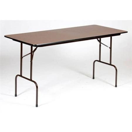 Melamine Folding Table - Counter Height