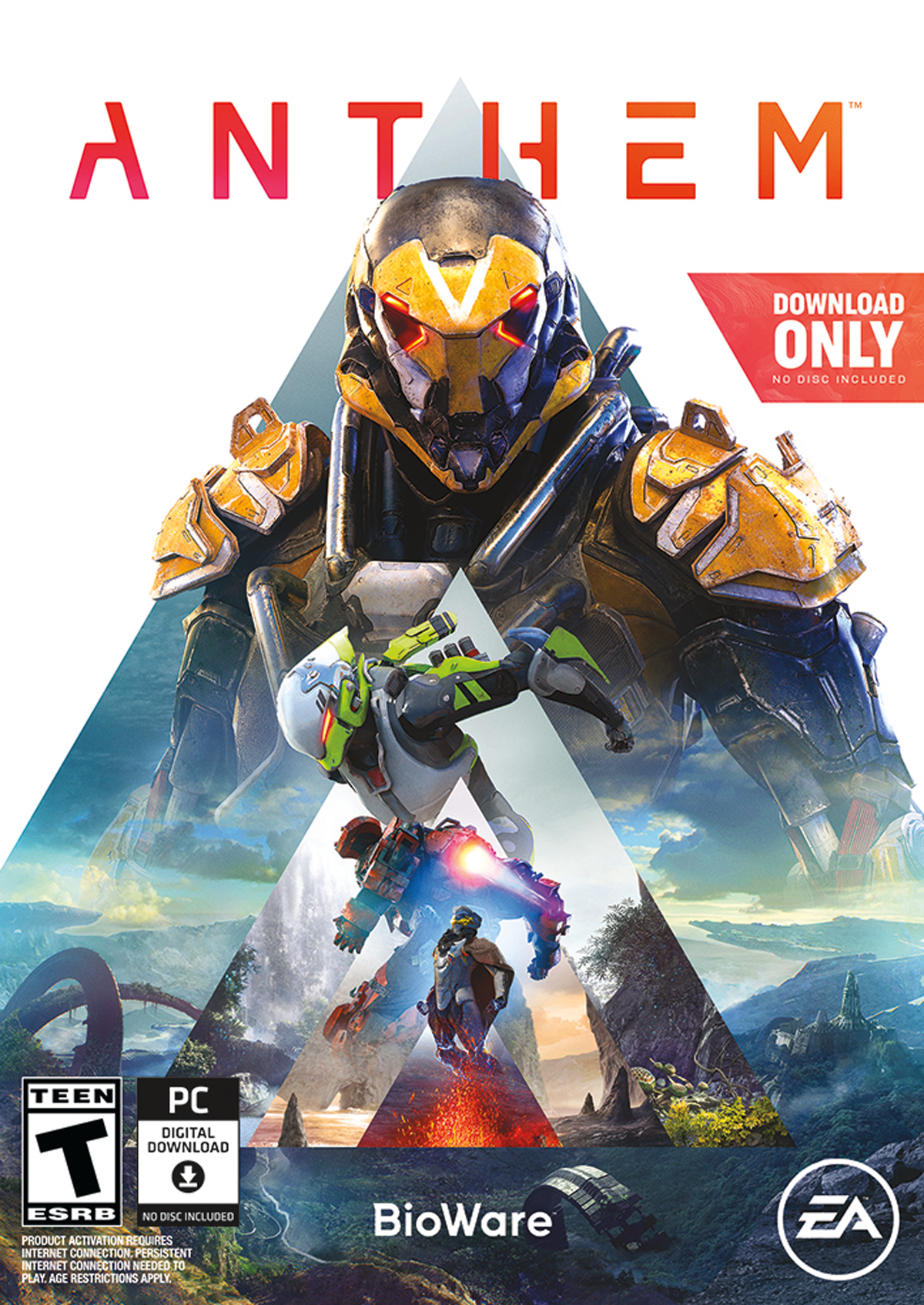 Anthem, Electronic Arts, PC, 014633369939