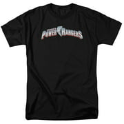 Mighty Morphin Power Rangers New Logo Mens Short Sleeve Shirt