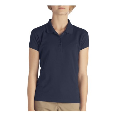Genuine Dickies School Uniform Short Sleeve Pique Polo (Little Girls)