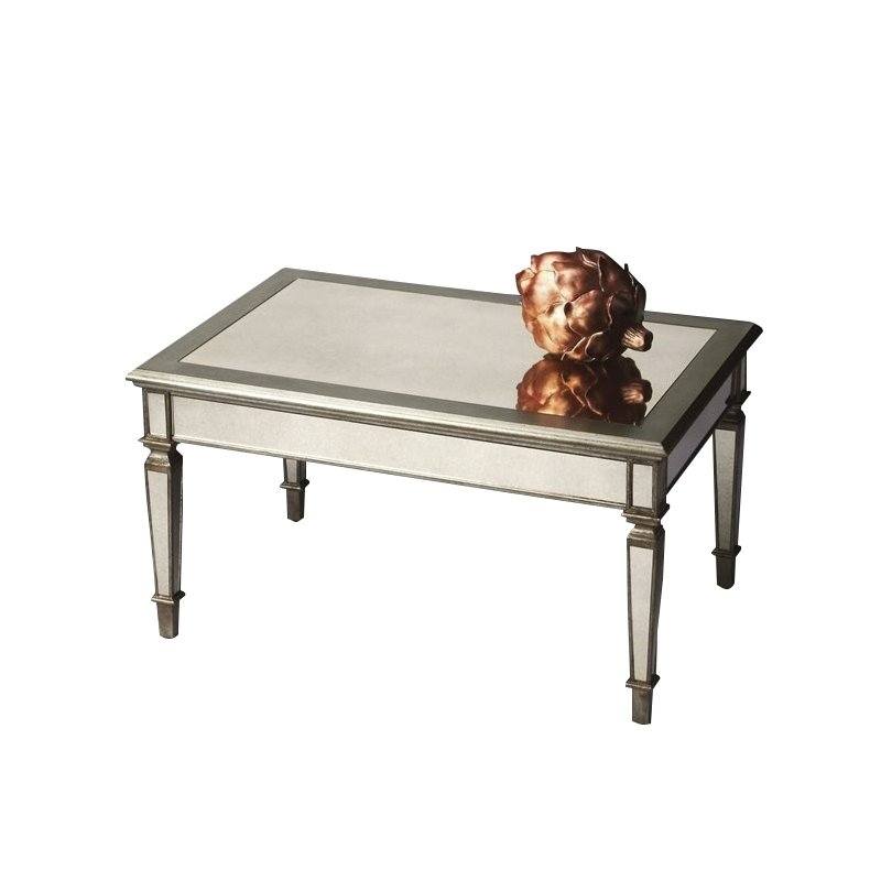 Butler Specialty Cocktail Table in Mirror Finish by Butler Specialty