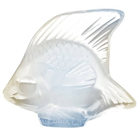 - Lalique Opalescent Crystal Fish 3001300