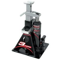 Powerbuilt 640912 3 Ton All-In-One Bottle Jack and Jack Stand