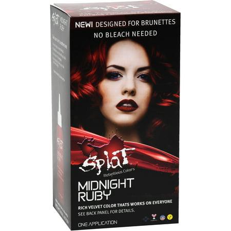 Splat Midnight Ruby Semi Permanent Hair Dye