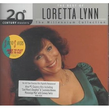 Loretta Lynn Songs - Loretta Lynn - 20th Century Masters: The Millennium Collection: The Best Of Loretta Lynn (Remastered) (CD)