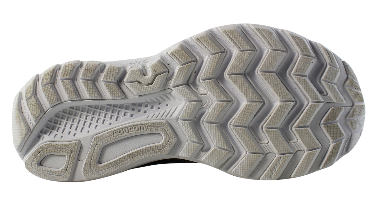 Saucony Womens S10364-1 Grey/Black Walking, Hiking, Trail Athletic Shoes Size 6 New