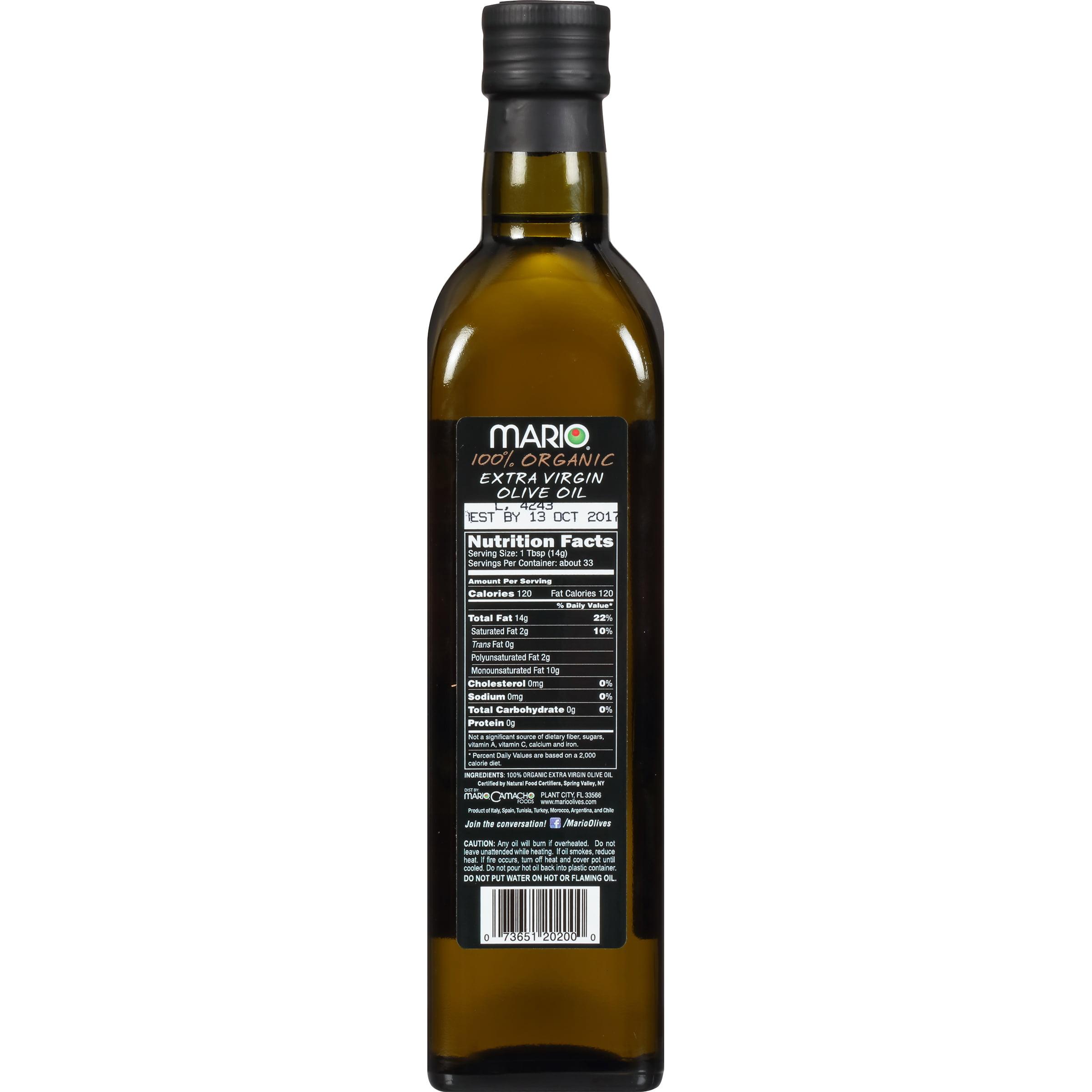 Mario® 100% Organic Extra Virgin Olive Oil 17 fl. oz. Bottle ...
