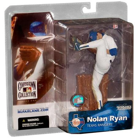 McFarlane MLB Cooperstown Collection Series 1 Nolan Ryan Action Figure [White Jersey] ()