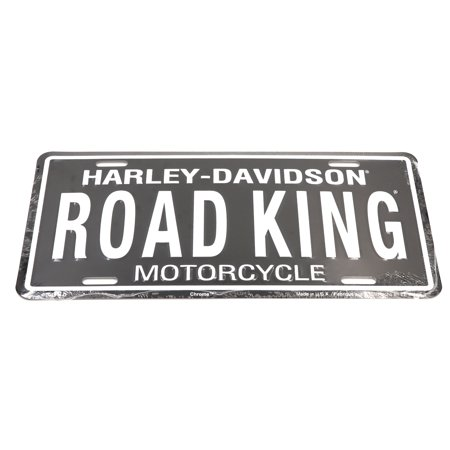 Harley Davidson ROAD KING Aluminum License Plate For Auto Automotive Cars - Harley Davidson Plates