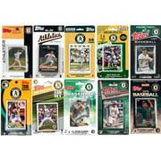 C & I Collectables MLB Oakland Athletics 10 Different Licensed Trading Card Team Sets