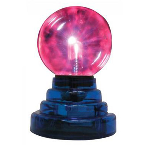 "Creative Motion 3"" Mini Plasma Ball, Black"