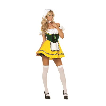Adult Beer Garden Girl - Garden Of Eden Costume