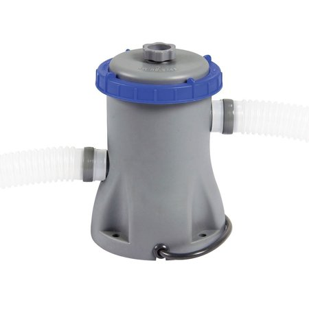 Bestway 110/ 120V 330 GPH Flowclear Filter Pump for Above Ground Swimming Pool