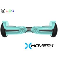 Hover-1 Liberty UL Certified Electric Hoverboard w/ 6.5in Wheels; Lithium-ion 10 Cell Battery; Ideal for Boys and Girls 8+ and Less Than 160 lbs, Seafoam