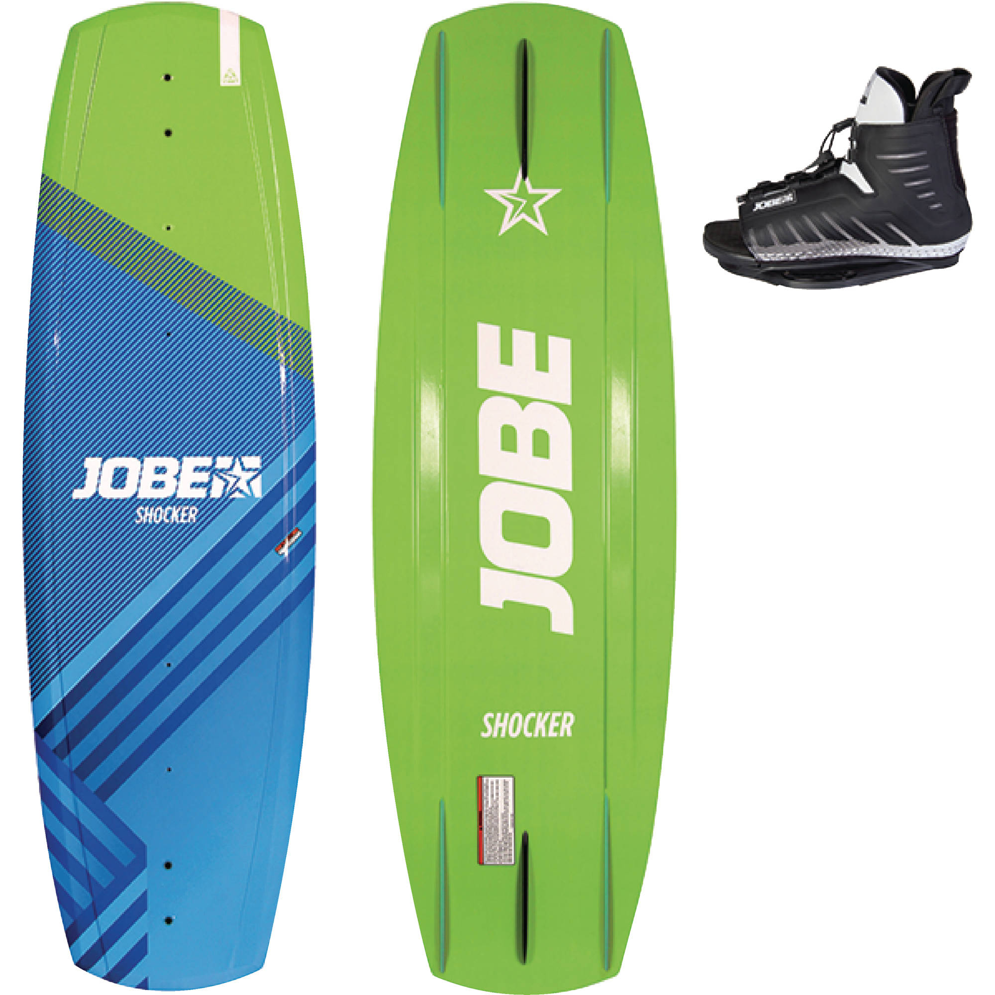 Jobe Shocker 138 Wakeboard 5 to 8 Shoe Size Set by Jobe Sport International
