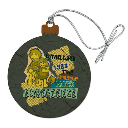 The Fraggle Rock Experience Established 1983 Wood Christmas Tree Holiday Ornament ()