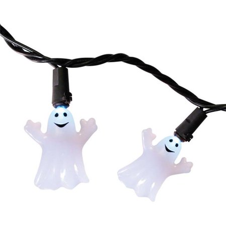 Celebrations 9736679 20 LED Warm White Ghost Lighted Halloween Lights, 1.5 in. x 8.66 ft. x 8.6 - Halloween Celebrations In Atlanta 2017