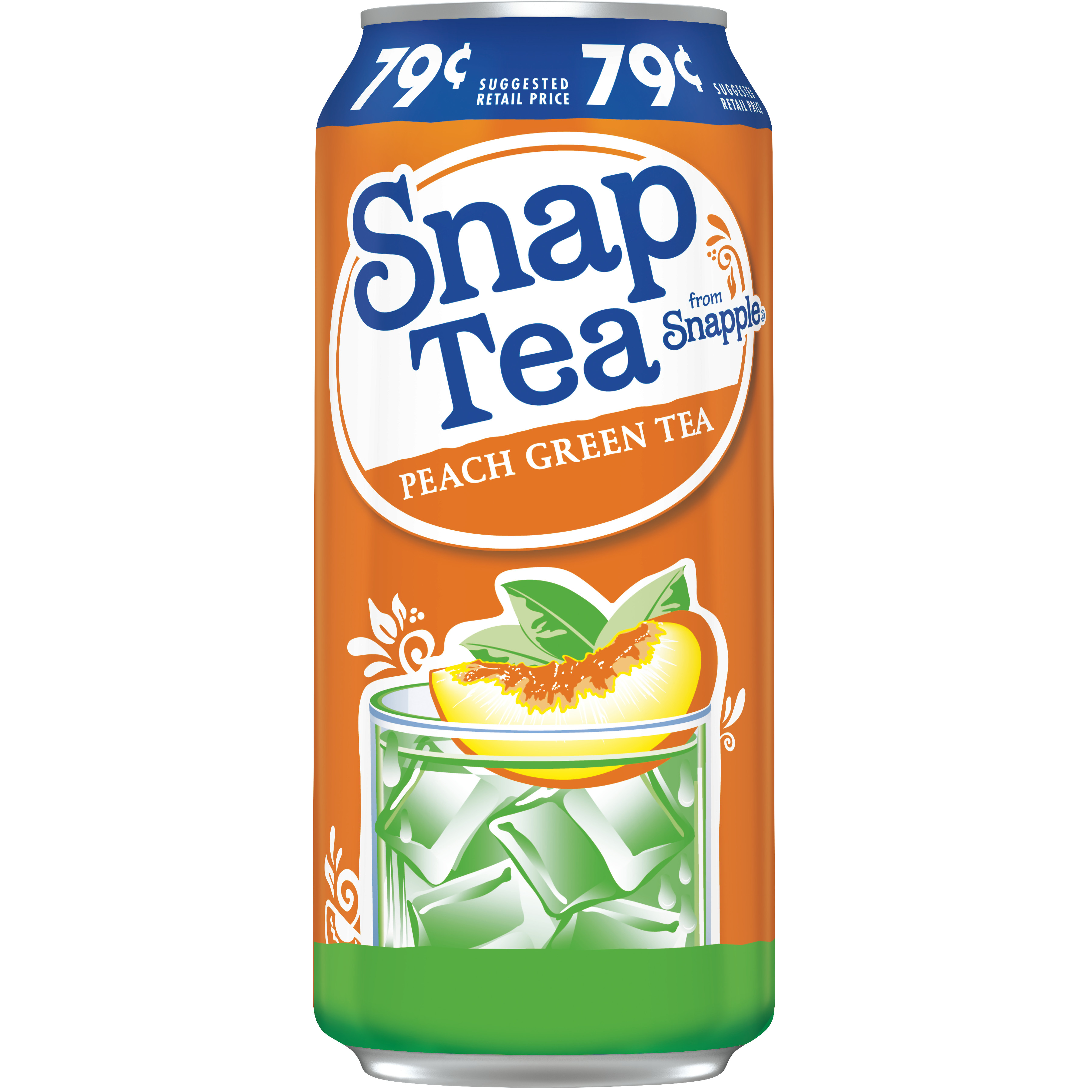 SnapTea Peach Green Tea, 16 fl oz